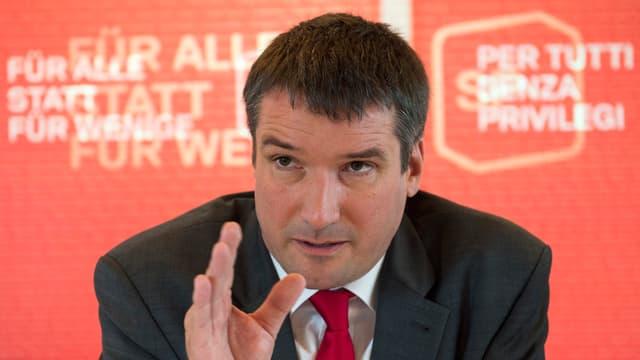 Christian Levrat, il president da la PS.