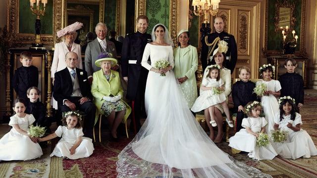 Foto der königlichen Familie