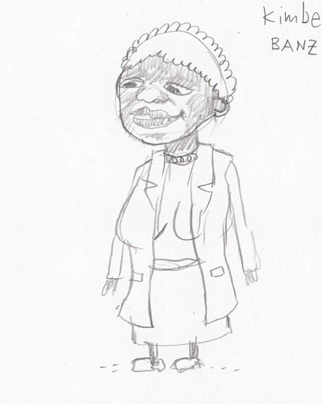 Hilfsschwester Kimberley Banz-Awudome.