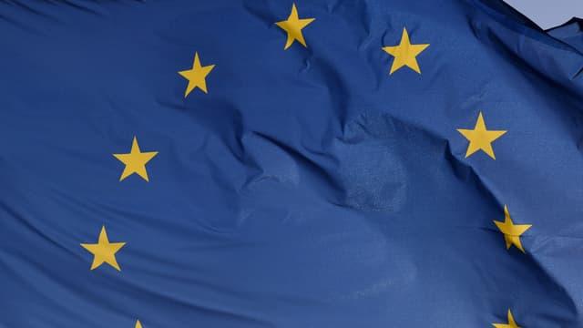 bandiera da l'UE.