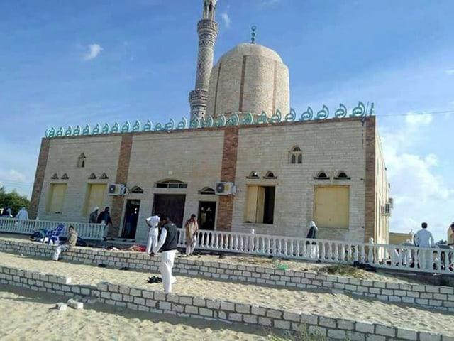 Moschee, in der der Anschlag stattfand