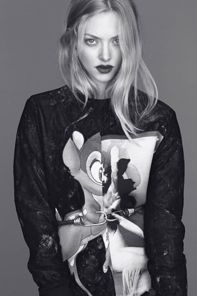 Zurzeit auf dem Laufsteg zu sehen: Pulli von Givenchy.