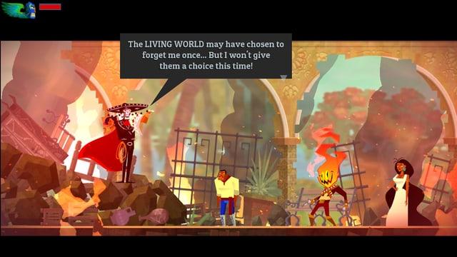 Spielszene aus dem Game «Guacemelee»