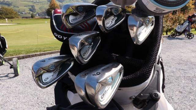 Golfschläger iim Cady