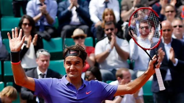 Sowohl Federer als auch Wawrinka dürfen sich über ihren Sieg freuen.