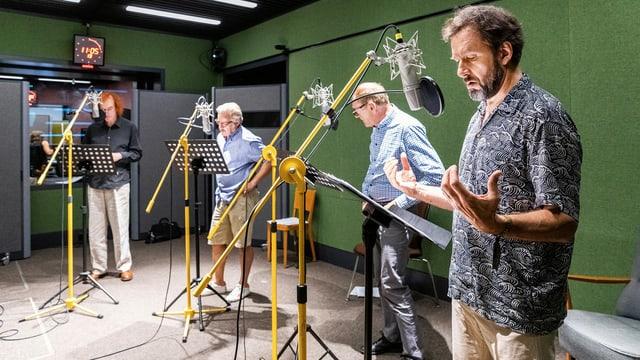 Hörspiel-Aufnahmen für Radio SRF 2 Kultur