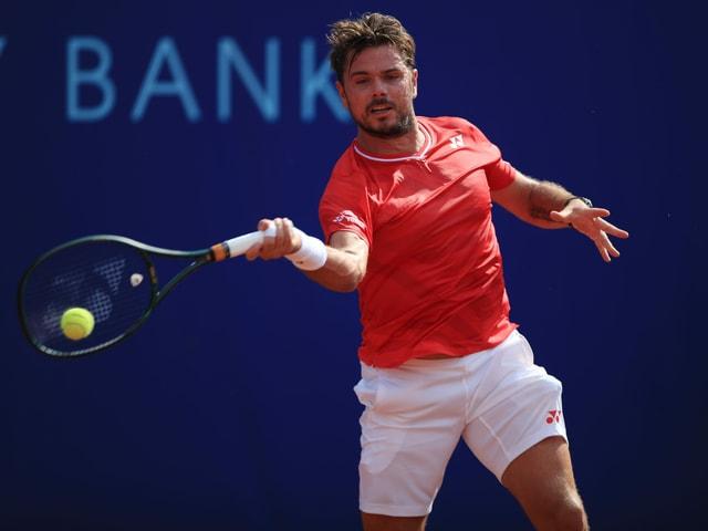 Stan Wawrinka zieht gegen den Deutschen Oscar Otte in die Viertelfinals von Prag ein.