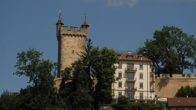 Turm der Museggmauer.