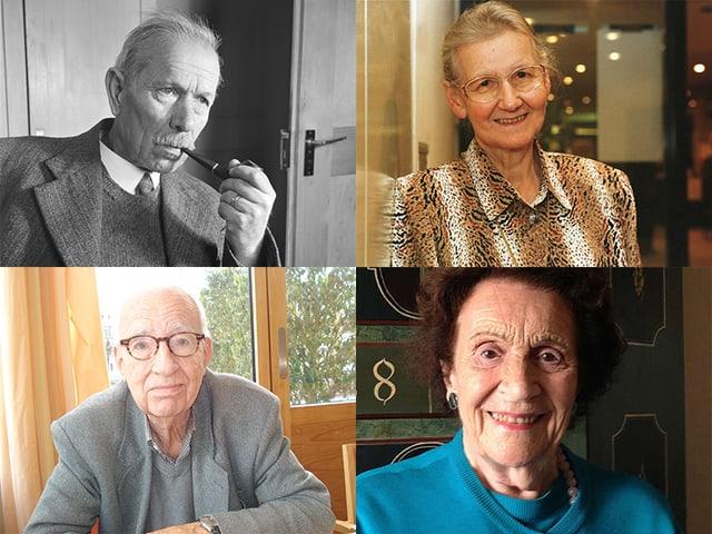 Frühe Mundartautorinnen und -autoren, die in der «Schnabelweid» Platz fanden