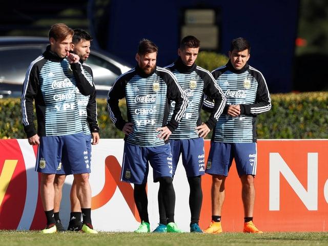 Lionel Messi und Co.