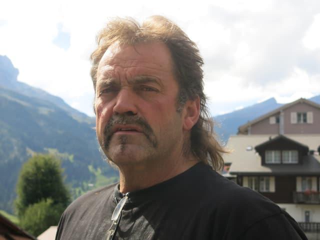 Einer der wehementesten Gegner des V-Bahn-Projekts: der Grindelwaldner Adrian Bohren