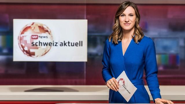 Oceana Galmarini, Moderatorin «Schweiz aktuell»