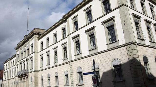 Thurgauer Regierungsgebäude von aussen