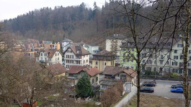 Das Gebiet an der Bernstrasse, wo die 135 Wohnungen entstehen.