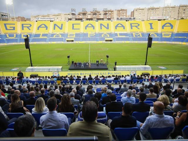 Das Stadion von UD Las Palmas.