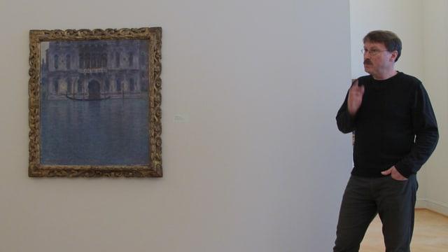 Bild eines Palastes in Venedig
