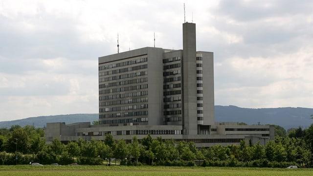 Blick aufs Bruderholzspital