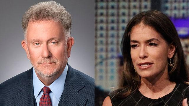 Pitt-Anwalt Lance Spiegel und Jolie-Anwältin Laura Wasser