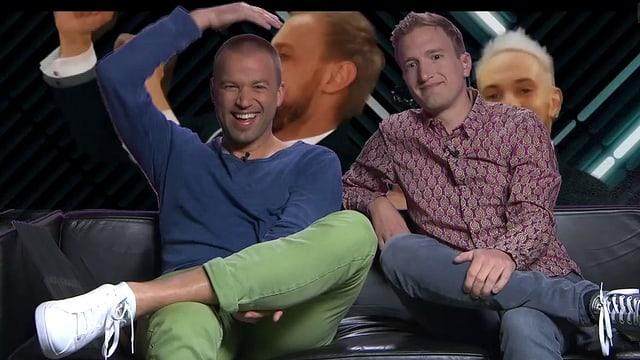Jonny Fischer und Stefan Büsser kommentieren den «Eurovision Song Contest»