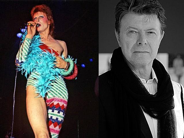 Der britische Sänger lotete mit seinen Kunstfiguren immer wieder die Grenzen des Geschlechter-Denkens au. Man sagt Bowie nach, er habe die Gender-Neutralität in die Popmusik geführt.