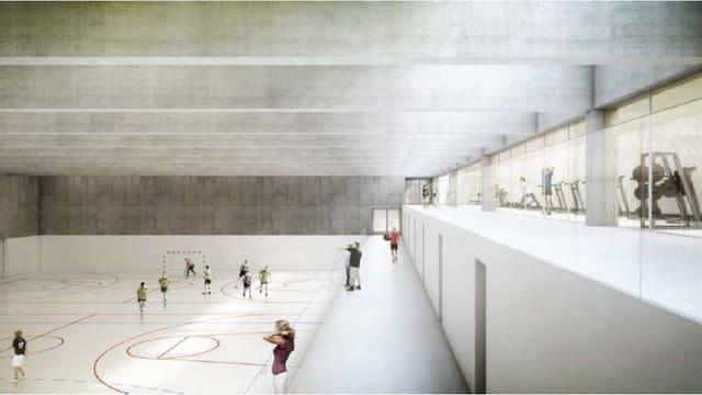 Neue Turnhalle in Wettingen