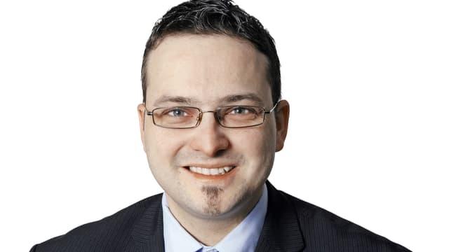 SVP-Stadtratskandidat Thomas Schärli
