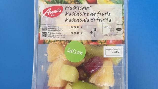 """Der """"Saison""""-Fruchtsalat"""