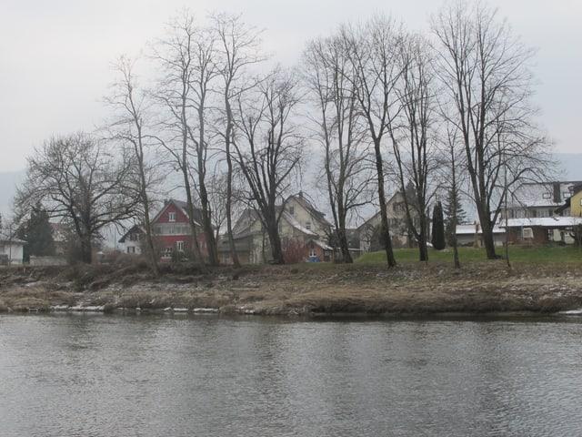 Häuserzeile an der Aare