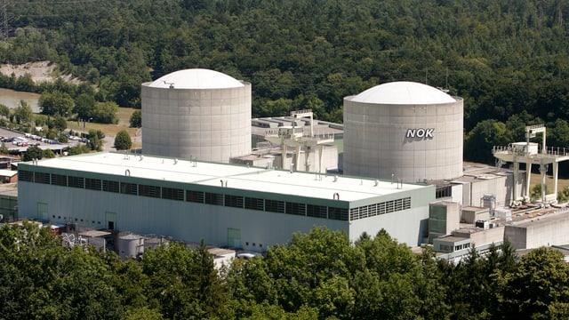 Ils dus reacturs da l'ovra atomara Beznau.