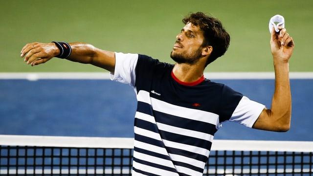 Feliciano Lopez hat alle 11 Duelle gegen Roger Federer verloren.