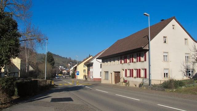 Dorfansicht von Herznach