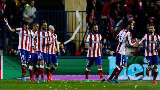 Atletico freut sich über das 1:0