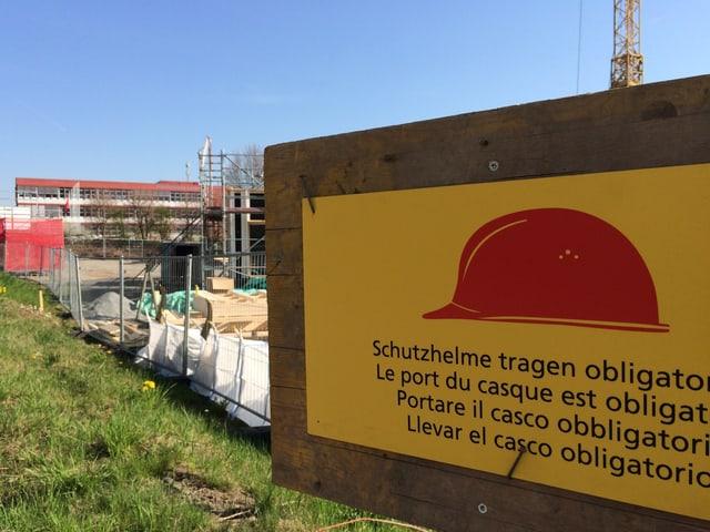 Bauplatz des Solarhauses