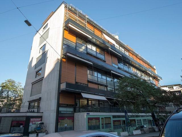 Das Immeuble Clarté, ein Wohnblock.