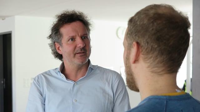André Bachmann, Vorstandsmitglied der Luzerner City Vereinigung.