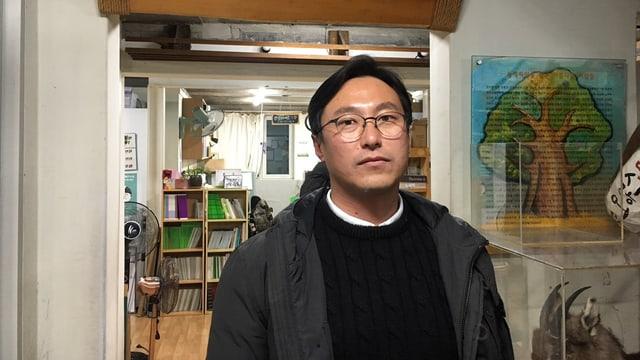 Umweltschützer Chung Kyu Surk von der «Green Korea United».