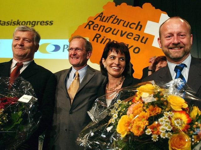 Dominique de Bumann im Jahr 2005 als Vizepräsident der CVP