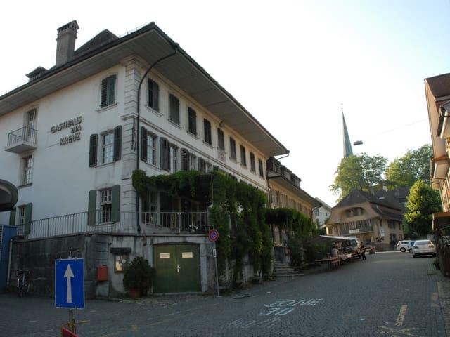 Gasthof Kreuz Herzogenbuchsee, Kirchgasse.
