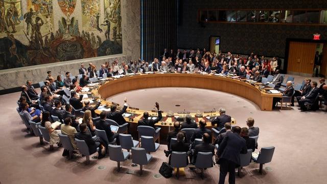 Il cussegl da segirtad da l'ONU.