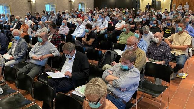 Gemeindeversammlung im Solothurner Landhaus