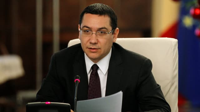 Alter und neuer Regierungschef Rumäniens Victor Ponta.