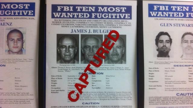 """James """"Whitey"""" Bulger: Er war einst der meistgesuchte Verbrecher der USA."""