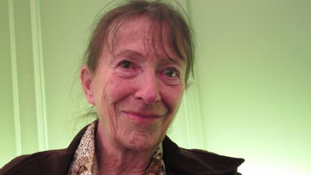 Anne-Marie Rey freut sich, dass Krankenkasse Abtreibungen weiterhin zahlen.