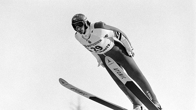 Hippolyt Kempf vi da dar in sigl cun skis