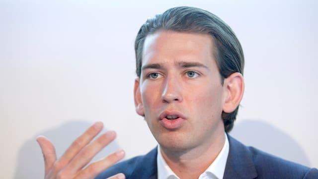 Il minister da l'exteriur austriac Sebastian Kurz.