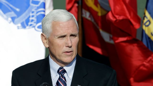 Mike Pence, il vicepresident american.