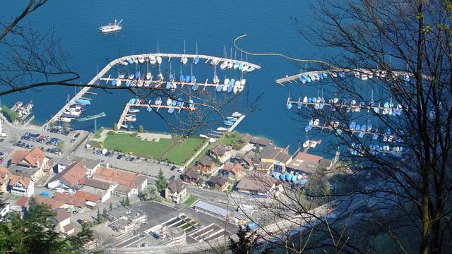 Bootshafen Hergiswil