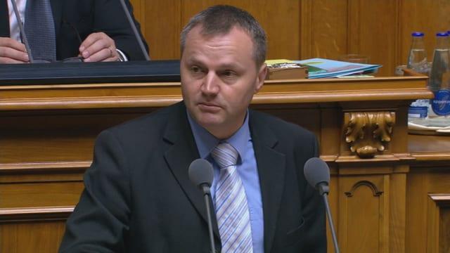 Bernhard Guhl, Nationalrat BDP/AG