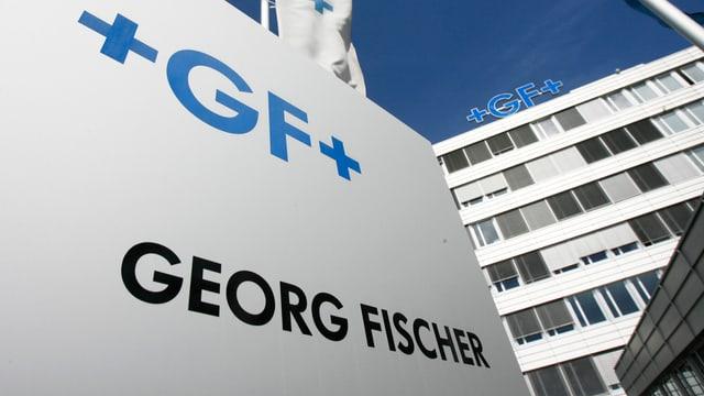 Georg Fischer Gebäude.
