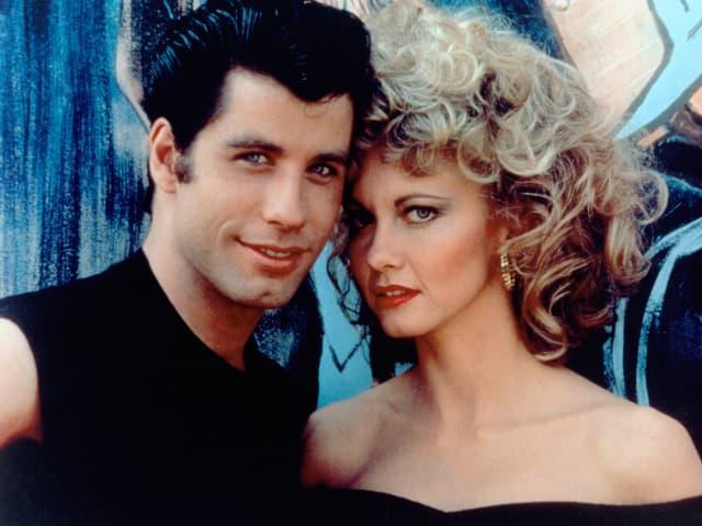 Archivbild von John Travola und Olivia Newton-John aus dem Musical «Grease» aus dem Jahr 1978.